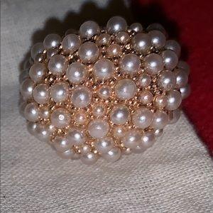 J.Crew pearl ring